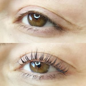 After (bottom)Yumi Lash Lift